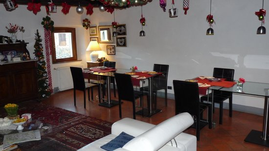 La casa di Adelina Charming House: Il salotto