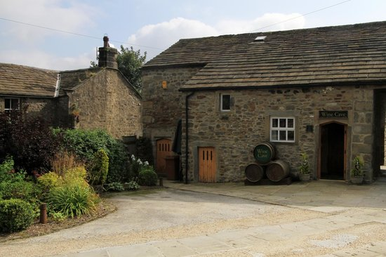 The Angel Inn: The Wine Cellar