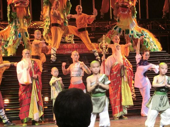 Legend Of Kung Fu: the actors