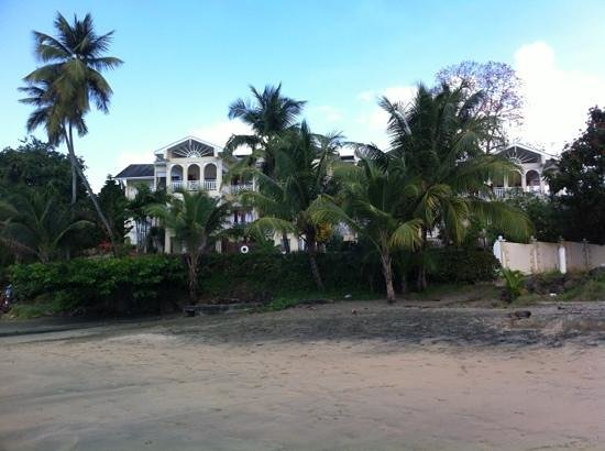 The Seahorse Inn: view from the beach