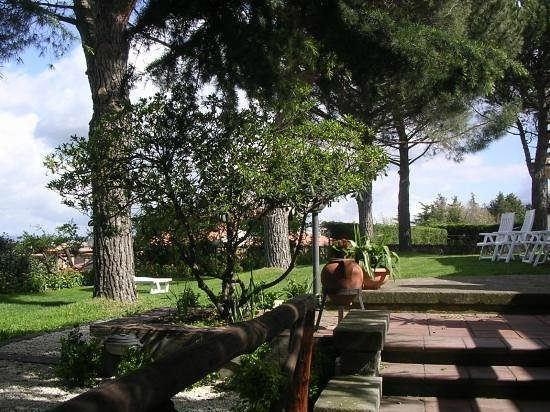 B&B Colle Verde: giardino ovest 1