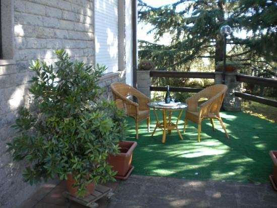 B&B Colle Verde: relax terrazza ovest