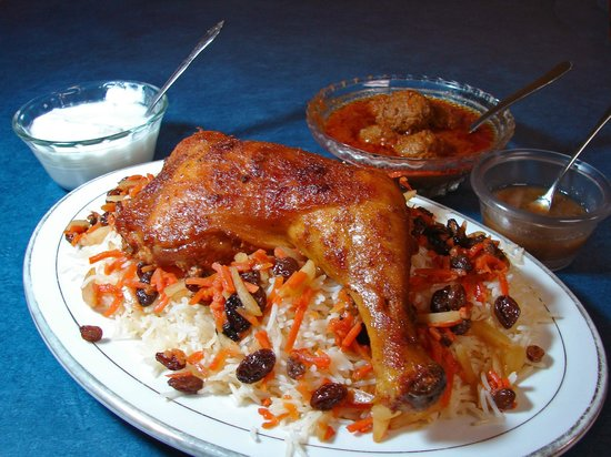 Khorasan Kabob House: Kabuli Pilau (Kabul Chicken)