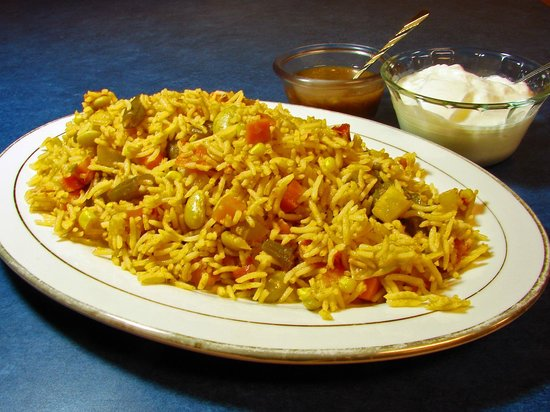 Khorasan Kabob House: Vegetable Biryani