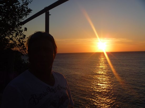 Couples Swept Away: Sunset while on the One Love tour
