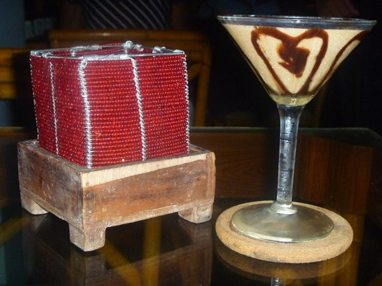 Couples Swept Away: Yummy martinis.  Love the martini bar!