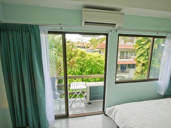 Diana-Oasis Residence Hotel/Studios & Garden Restaurant: Balcony Premium