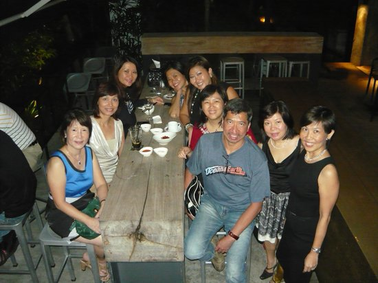 KPO Cafe Bar : Outdoor seating area