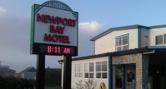 Newport Bay Motel: Motel