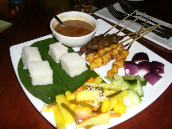 Satay main... there was plenty more satay to come (this was just the first part!)