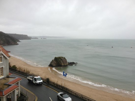 Cliffe-Norton Hotel: View from our room