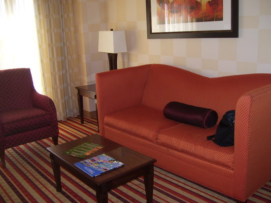 Renaissance Charlotte Suites Hotel:                   Living Room