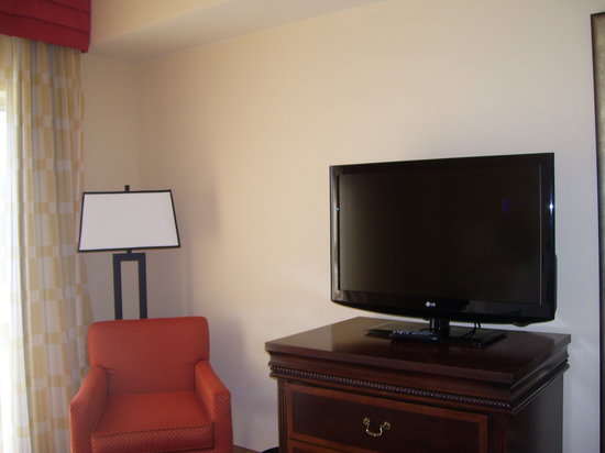 Renaissance Charlotte Suites Hotel:                   TV in Bedroom