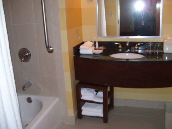 Renaissance Charlotte Suites:                   Bathroom