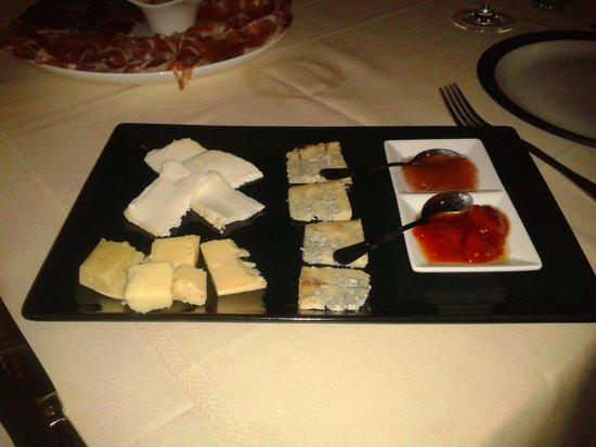 Locanda Le 4 Ciacole : degustazione formaggi