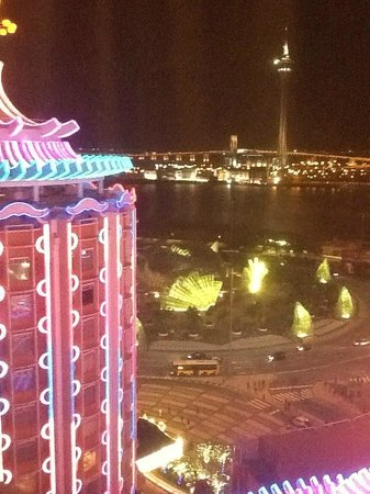Hotel Lisboa Macau: View from room