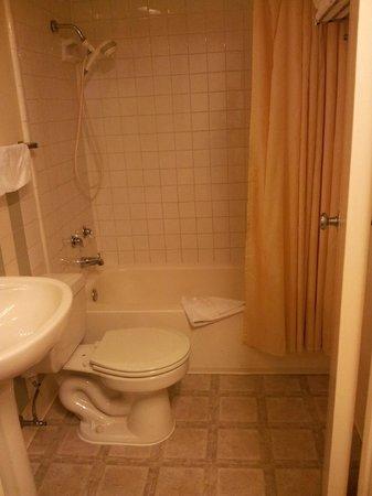 Oasis Inn: Salle de bain petite