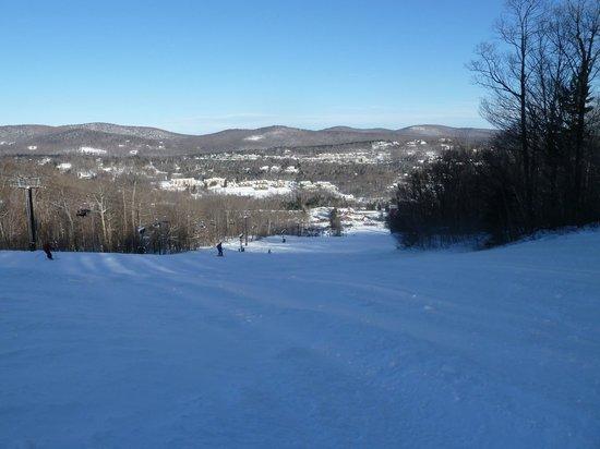 كيتزهوف إن: From Snowdance ski run 