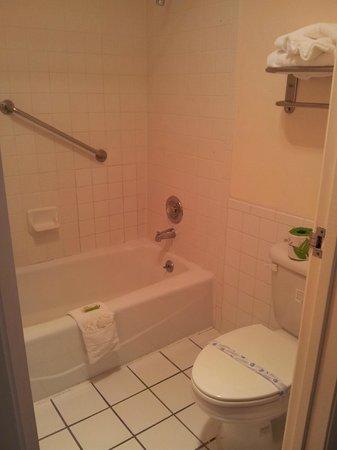 Courtesy Inn San Simeon: ...La baignoire et les toilettes sont elles séparées par une porte