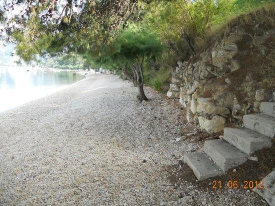 Hotel Brzet : Brzet beach