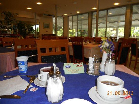 Hotel Brzet : Restaurant