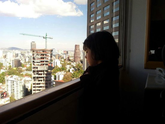 InterContinental Presidente Mexico City: valeria mirando la ciudad