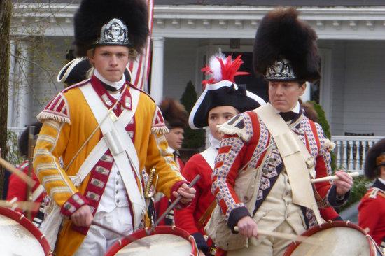 Lexington, ماساتشوستس: Redcoat Drummers 
