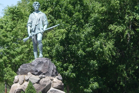Lexington, ماساتشوستس: Lexington Minuteman Statue 