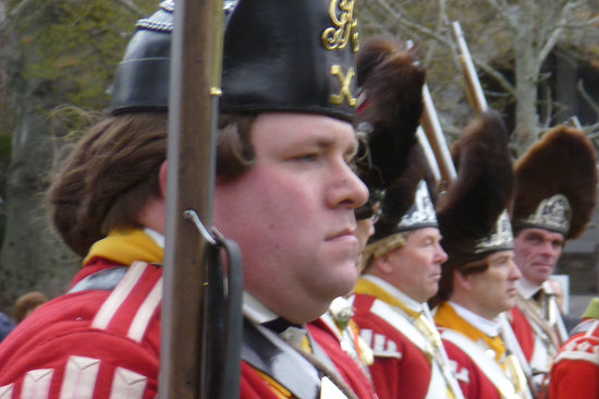 Lexington, MA: Redcoats