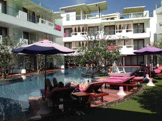 The Sea-Cret, Hua Hin: pool area