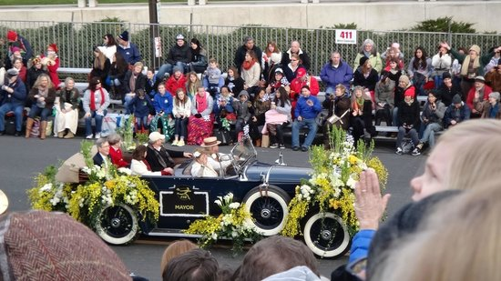 Tournament of Roses Association: President of Rose Bowl Parade