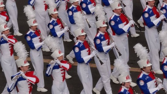 Tournament of Roses Association: Nate our son marching in the Band Of America's band