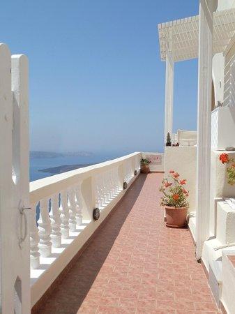 Villa Ilias Caldera Hotel: .