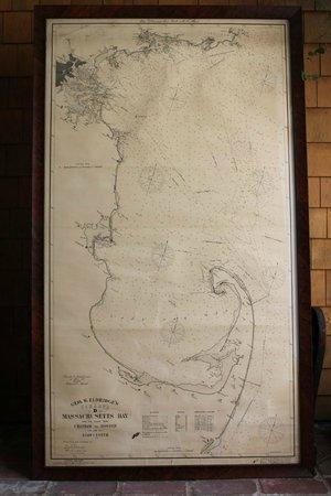 Eldridge Nautical Chart Of Boston To Cape Cod Area Picture Of