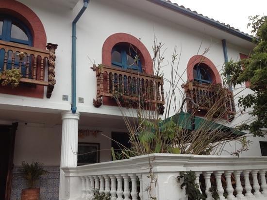 Hacienda Cusin: Hermosos Balcones