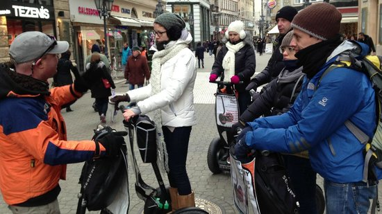 Segway Tours Budapest : Buda on Segway