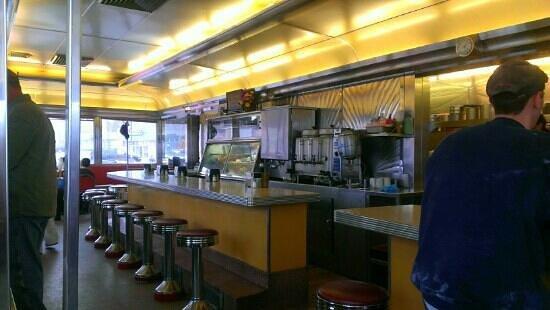 Zip's Dining Car: inside dinning car