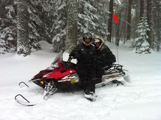 Plymouth, Вермонт: Killington Snowmobile Tour