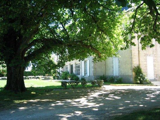 Saint-Denis-la-Chevasse, Francia: le parc ombragé du château