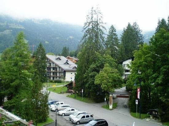 Eurotel Victoria: Villars,setup on hills