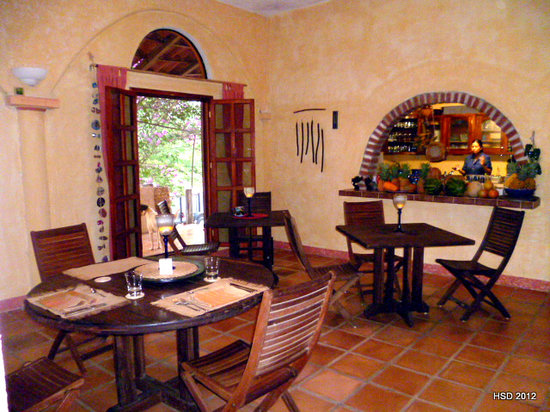 Hacienda Hotel Santo Domingo: Dining room