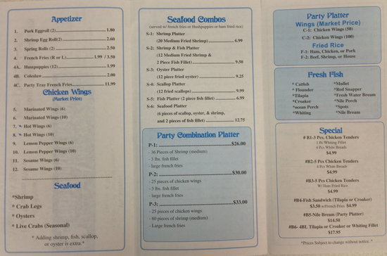 Augusta Fish Market Restaurant Restaurant Reviews