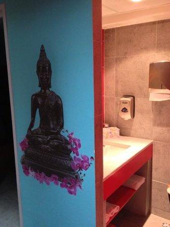 Cezanne Hotel: toilette salle de sport