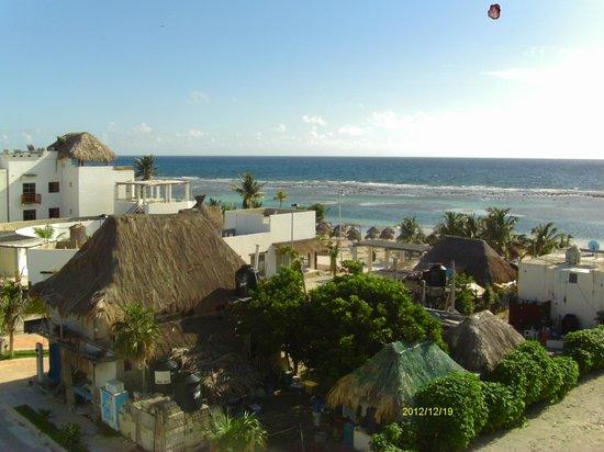 Koox Matan Ka'an Hotel: desde arriba