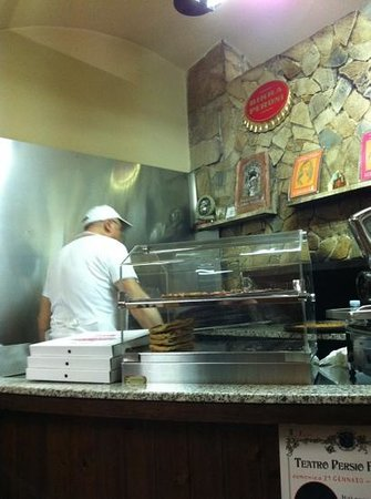 Pizzeria da Nanni : ecco nanni..