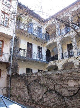 كاساتي بودابست هوتل: Courtyard