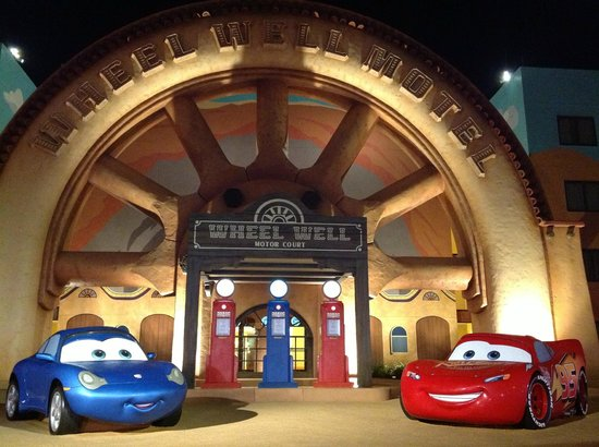 Art Of Animation Cars Area Picture Of Walt Disney World