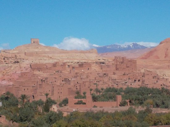 Kasbah Ait Ben Hadou, Ouarzazate.
