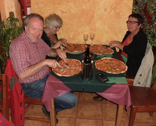 Pizzería Wairua : Fresh home made Pizza