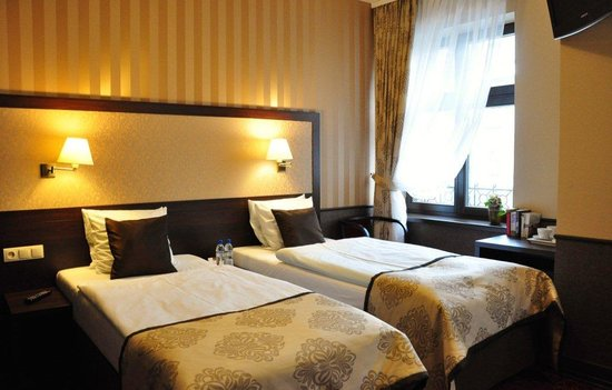 Wielopole Hotel : twin room
